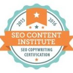 ContentClear.com's Pam Foster is a Certified SEO Copywriter